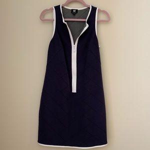[W by Worth] Tennis Dress with Zipper
